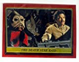 Lando Calrissian and Nien Nunb trading card 1999 Star Wars Topps Chrome Archives #87 Return of the Jedi Death Star Raid