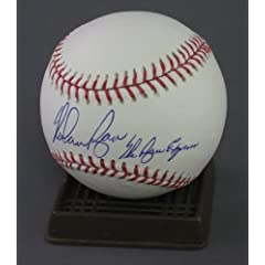 Nolan Ryan Signed MLB Baseball Rangers w Ryan Express by Radtke Sports