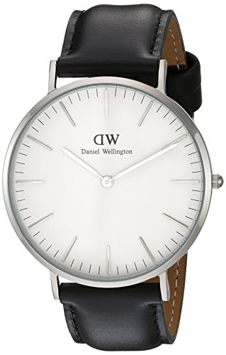 Daniel Wellington Men's Quartz Watch Classic Sheffield 0206DW with Leather Strap