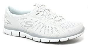 Skechers Women's Gratis - Big Idea White Sneakers 6.5 M