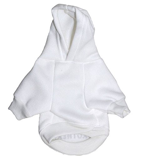 LISEN Dog Hoodie Clothes Pet Apparel Custumes Puppy Cotton I'M Going To Be A Big Brother Printed,White