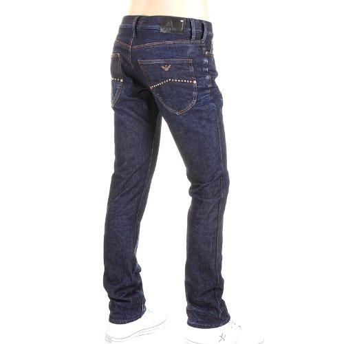 Armani Jeans J02 slim fit denim indaco scuro jean N6J02 2Y AJM0023