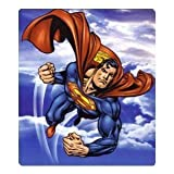 "Superman 50"" x 60"" Flying High Fleece Throw"
