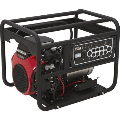 Northstar Dual Fuel Portable Generator With Electric Start - 10,000 Surge Watts, 9450 Rated Watts, Epa And Carb Compliant, Model# 16956
