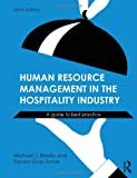 Human Resource Management in the Hospitality Industry: A Guide to Best Practice