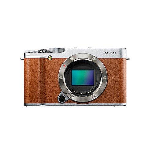 FUJIFILM ミラーレス一眼カメラ X-M1 ボディ 1630万画素APS-C ブラウン F FX-X-M1BW
