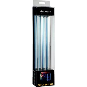 Sharkoon Kaltlichtkathoden Set 4in1 30cm blau PC-Beleuchtung