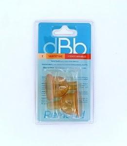 dBb Remond Blister 2 Varitétine - Caoutchouc - 3 Positions et Régulateurs d'air