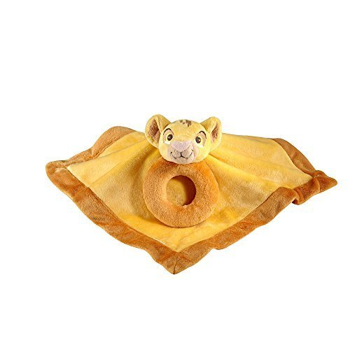 Disney Baby - Simba Security Blanket and Ring Rattle
