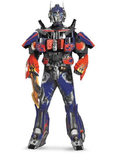 Disguise Men's Optimus Prime Rental Quality Costume