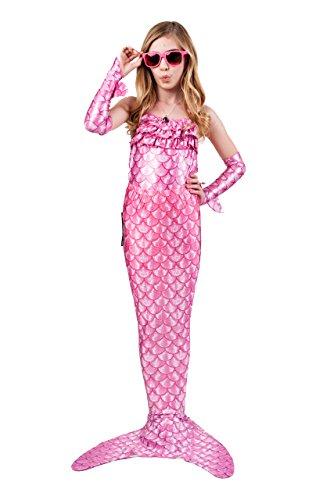 Merma (Pink Poppy Mermaid Costume)