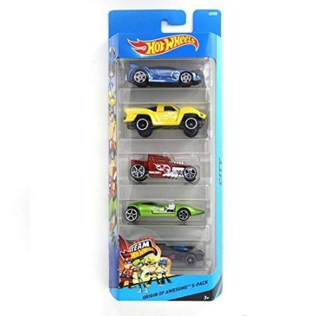 Hot Wheels Origin of Awesome 5-pack (Hot Rod Toy Cars compare prices)