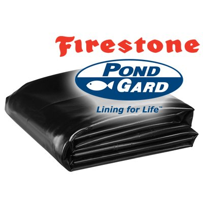 45 Mil EPDM Fish Safe Pond Liner 10' X 10' - 25 Year Warranty