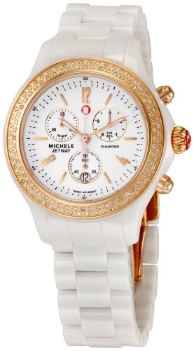 Michele Women'S Mww17B000008 Jetway Chronograph Watch