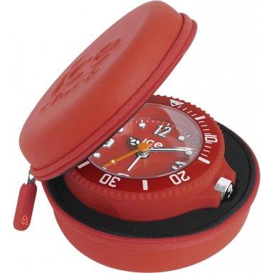 ice-clock-travel-alarm-clock-red