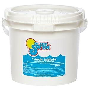 Amazon Com In The Swim 1 Inch Pool Chlorine Tablets 25