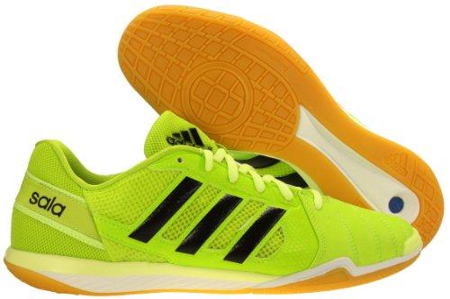 00cc3de3bad Mens Adidas Freefootball Topsala Indoor Soccer Shoes Solar Slime Black Glow  F32535 Size 9 5