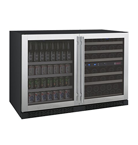 Buy Cheap Allavino FlexCount Series Side-by-Side Wine Refrigerator and Beverage Center Stainless Ste...