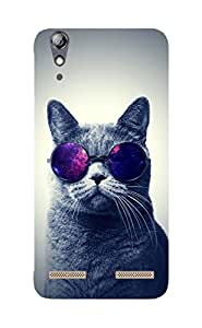 Back Cover for Lenovo A6000 Cat Swag