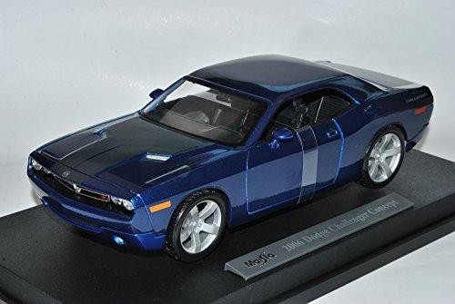 dodge-challenger-concept-2006-lc-coupe-blau-ab-2008-1-18-maisto-modell-auto