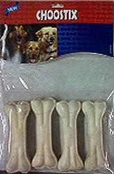 Choostix Pressed Dog Bone (4-inch x 4 Pieces)