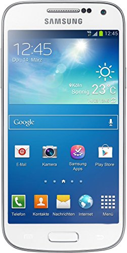 Samsung-Galaxy-S4-Mini-I9195-LTE-Smartphone-wei-1085-cm-427-Zoll-AMOLED-Touchscreen-Micro-Sim-8-GB-interner-Speicher-8-Megapixel-Kamera-LTE-NFC-Android-42-Zertifiziert-und-Generalberholt