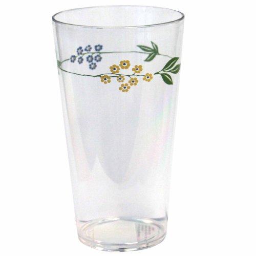 Corelle Coordinates Secret Garden 19-Ounce Acrylic Glass, Set of 6