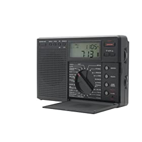 Grundig Traveler II Digital G8 AM/FM/LW/Shortwave Radio with Auto Tuning Storage
