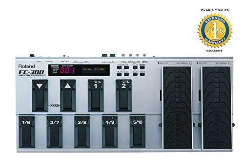 Roland FC-300 MIDI Foot Controller with 1 Year Free Extended Warranty (Midi Foot Controller Expression compare prices)