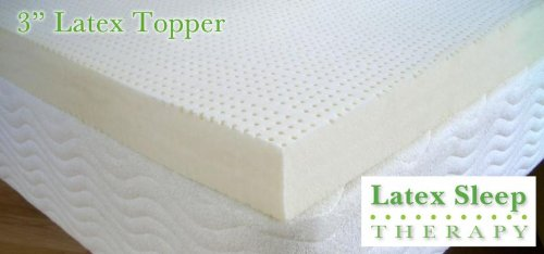 All Natural Latex Mattress Topper