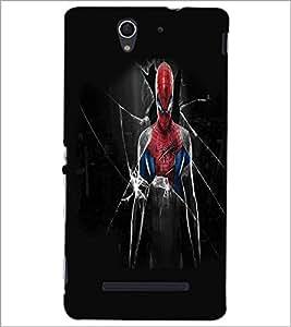 SONY XPERIA C3 SUPERHERO Designer Back Cover Case By PRINTSWAG