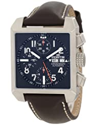 Fortis Men's 667.10.41 L.16 Square Chronograph Watch