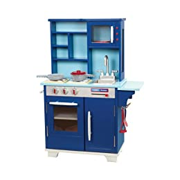 target play kitchen wood