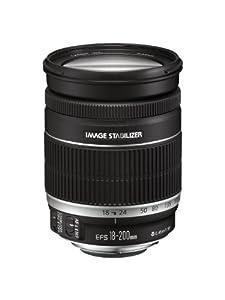 Canon EF-S 18-200 mm f/ 3,5-5,6 IS Zoom avec stabilisateur d'image 4 vitesses