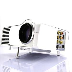 HD 1080p FULL LED HDMI CINEMA BEAMER / PROJECTEUR HDMI+USB+TV- Blanc