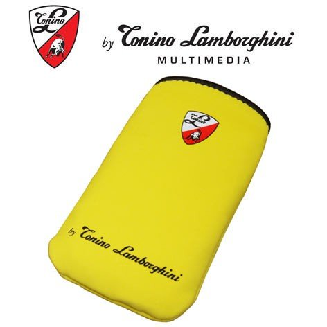 """Tonino Lamborghini SlimCase Soft Touch Neopren Yellow size """"M"""" für Apple iPhone 1G, iPhone 3G S, iPhone 3G, iPod Touch,Blackberry 8310 Curve,8900 Curve,9000 Bold, 9500 Storm HP iPAQ 614c, iPAQ 914c,HTC Elf,Hero. Magic, Magsis, P3450, P3470, P3650, P4350, P5500, Nike, Touch,Touch Diamond 2, Touch HD, Touch Dual, Touch Pro,LG HB-620, HB-620T,KC910,Nokia 3250. 5630 XpressMusic, 5730 XpressMusic, 5700, E63, E71, N70, N71, N80, N82, N96, N97,Samsung F700 Qbowl, G810, i7110,i8000 Omnia 2, i900 Omnia,S"""