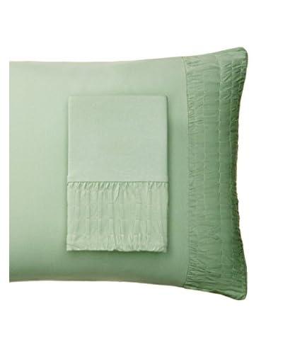 lazybones Rosette Standard Pillowcases, Mint