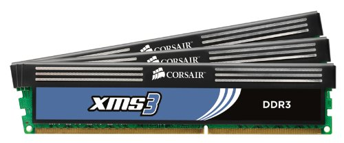 Corsair XMS3 6GB (3x2GB) DDR3 1333 MHz (PC3 10666) Desktop Memory (TR3X6G1333C9) (Rampage Ii Extreme compare prices)