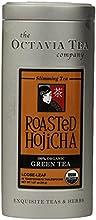 Octavia Tea Roasted Hojicha Organic Green Tea 187-Ounce Tin