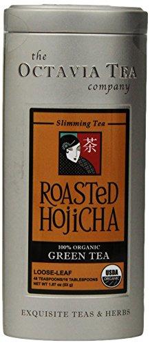 Octavia Tea Roasted Hojicha (Organic Green Tea) Loose Tea, 1.87-Ounce Tin (Roasting Barley compare prices)