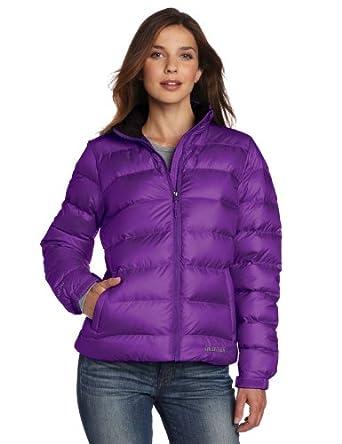 (狂跌)土拨鼠Marmot Guides Down Sweater 女士经典向导 紫色650蓬羽绒服 $150