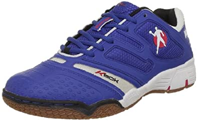Kempa Performer 200846601, Unisex - Erwachsene Sportschuhe - Handball, Blau (royal/weiß/rot 01), EU 36 (UK 3.5) (US 4)