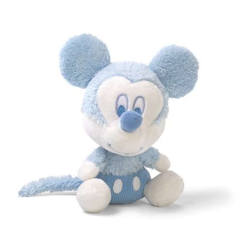 "Gund 6"" My First Mickey Rattle Plush front-823355"