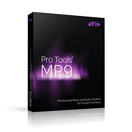 Pro Tools MP 9 - Professional Music and Audio Creation for M-Audio Interfaces