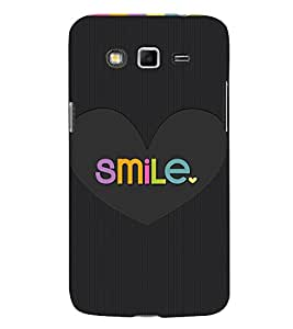 Smile in Love Cute Fashion 3D Hard Polycarbonate Designer Back Case Cover for Samsung Galaxy Grand I9082 :: Samsung Galaxy Grand Z I9082Z