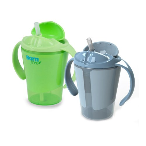 Straw Cup With Handles front-536645