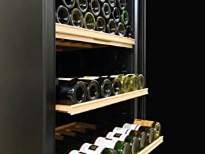 VinoCellier Wine Cabinet with Solid Door