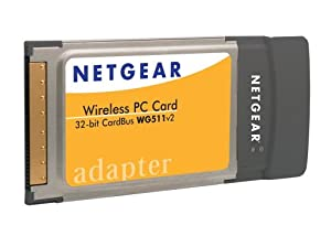 NETGEAR WG511NA Wireless G Pc Card