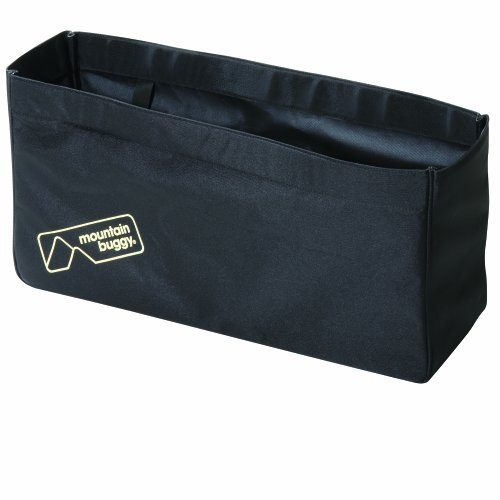Mountain Buggy Joey Clip-On Tote Bag, Black (Discontinued by Manufacturer)