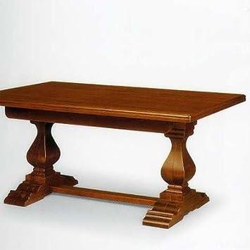 Tavolo tanganica cm 180x100 più 4 allunghe, aperto cm 400x100